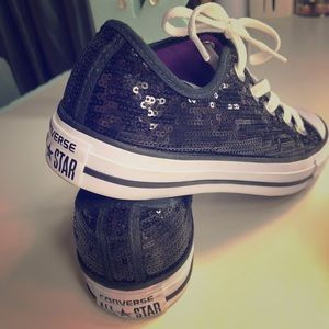 1d360d0a4bf2 Women s Blinged Converse on Poshmark